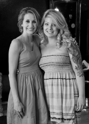 Bride and sister in-law