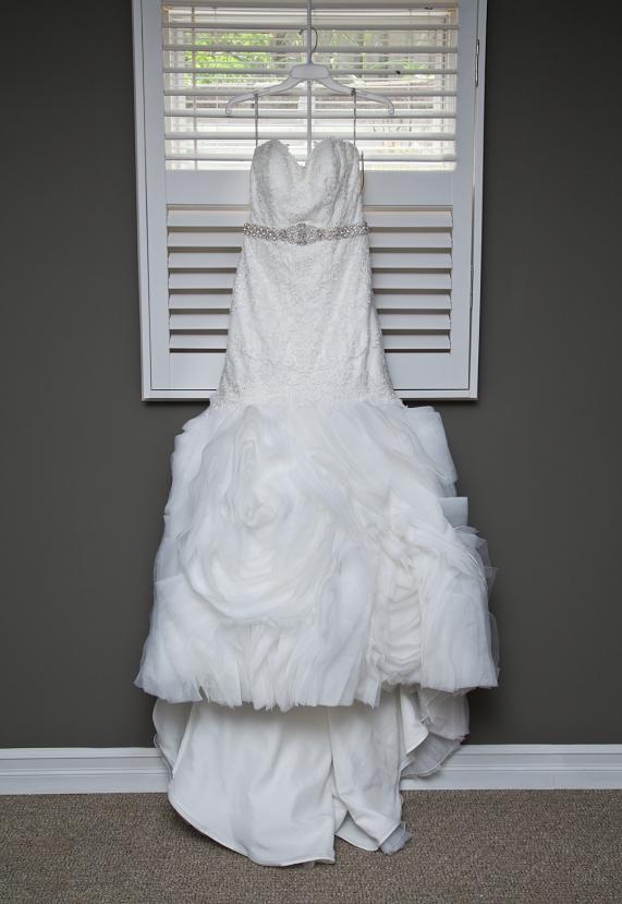 The Bides dress