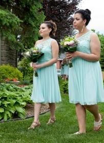 Katelyn and Ashley - Bridesmaids