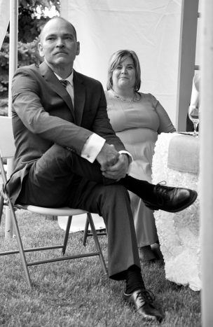 Father and Step mother of the Bride