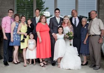 Bride's familiy
