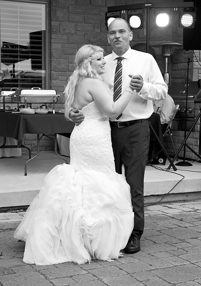Father/Daughter and Mother/Son first dance since becoming newly weds