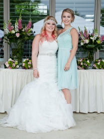 Bride and Bridesmaid Kyra