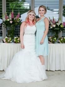 Bride and Bridesmaid Kyra