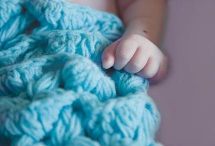 Baby Vaughn's hand